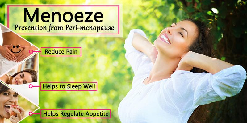 Menoeze prevents peri menopausal depression