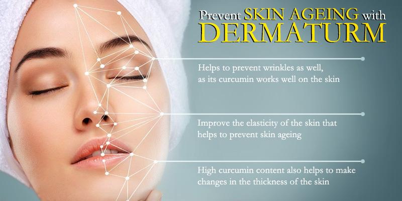Treating skin ageing