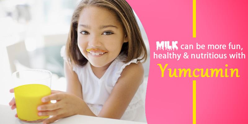 Milk made healthier with curcumin