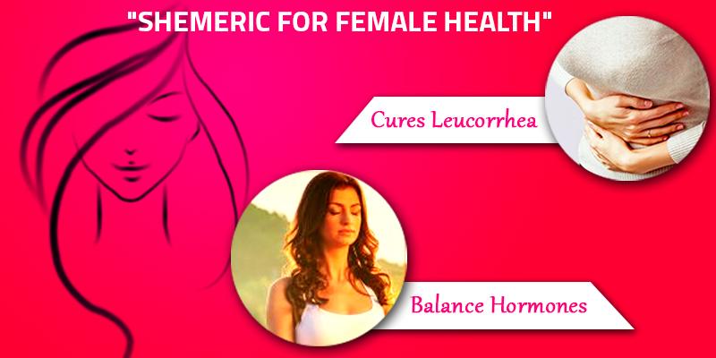 Shemeric boosts female health