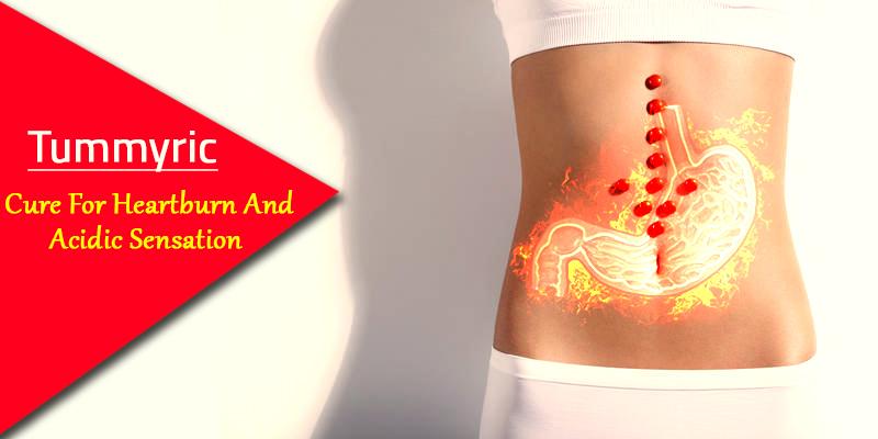 Heartburn and Acidity prevention with tummyric